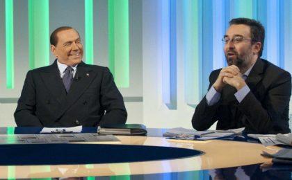 Sformat di Mariano Sabatini – Berlusconi passa alle vie di fatto, ad Omnibus colpisce un giornalista in testa