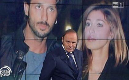 Fabrizio Corona 'il ribelle' a Porta a Porta: il web protesta