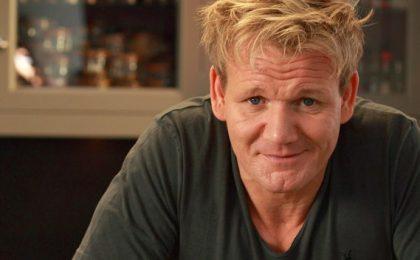 Cucina con Ramsay, il cuoco più temuto della TV ci svela i suoi segreti su Real Time