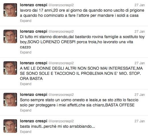 I tweet di Lorenzo Crespi
