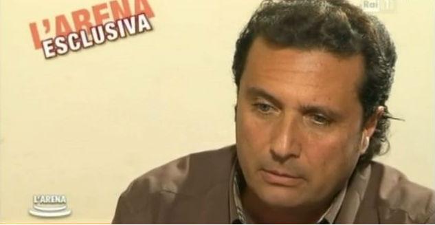 Sformat di Mariano Sabatini – L'Arena intervista Schettino, e la tv si trasforma in almanacco macabro