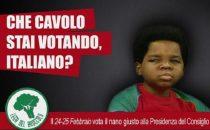 Manifesti per le Elezioni 2013 ispirati ai telefilm