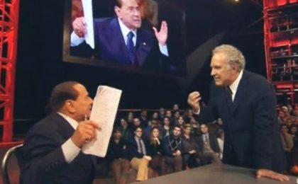 Sformat di Mariano Sabatini – Berlusconi vs Santoro, tanto rumore per nulla e un sostanziale pareggio televisivo