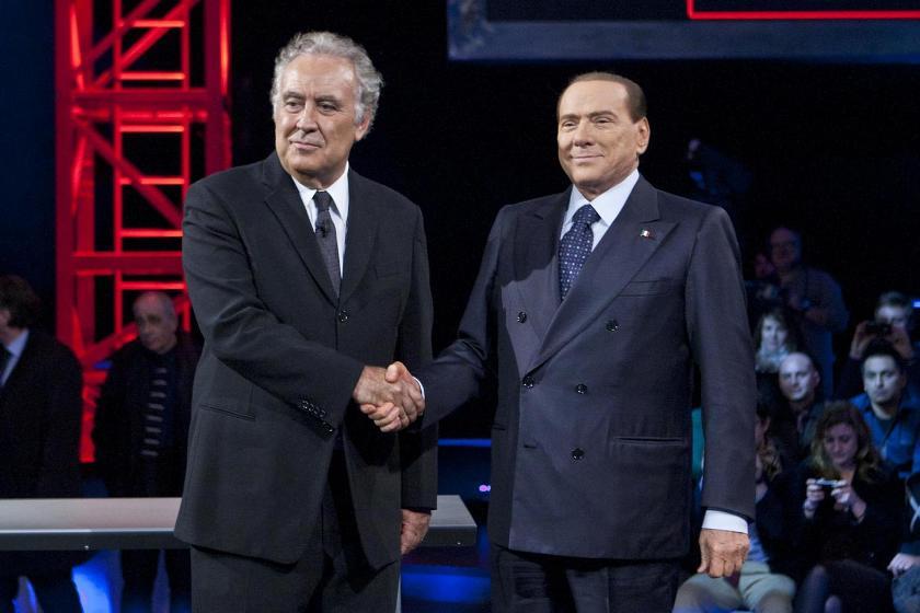 Ascolti tv giovedì 10 gennaio 2013: Servizio Pubblico di Santoro da record con Berlusconi