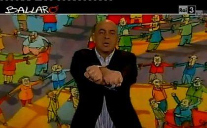 Crozza a Ballarò rimprovera Floris: Perché non inviti Berlusconi? Va dappertutto! [VIDEO]