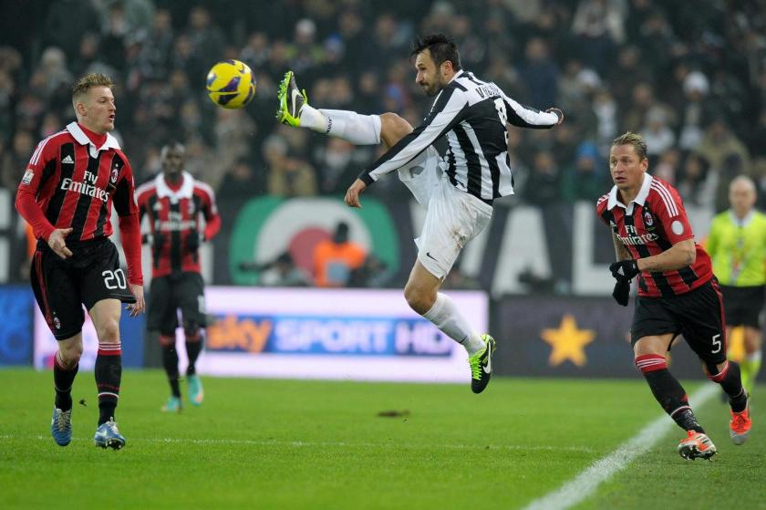 Ascolti tv mercoledì 9 gennaio 2013: Juve-Milan sfiora il 30%