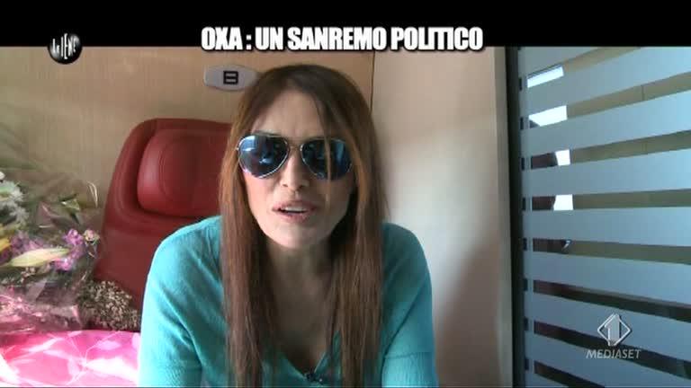 Sanremo 2013 polemica di Anna Oxa a Le Iene