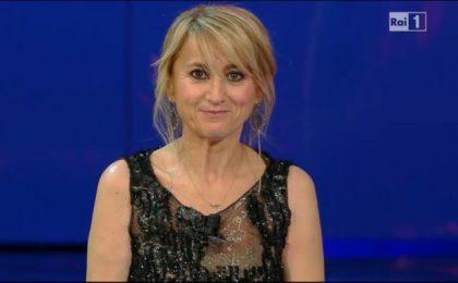 Sanremo 2013: monologo e flashmob della Littizzetto in difesa delle donne