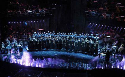 Sanremo 2013: l'omaggio a Giuseppe Verdi porta un tiepido applauso