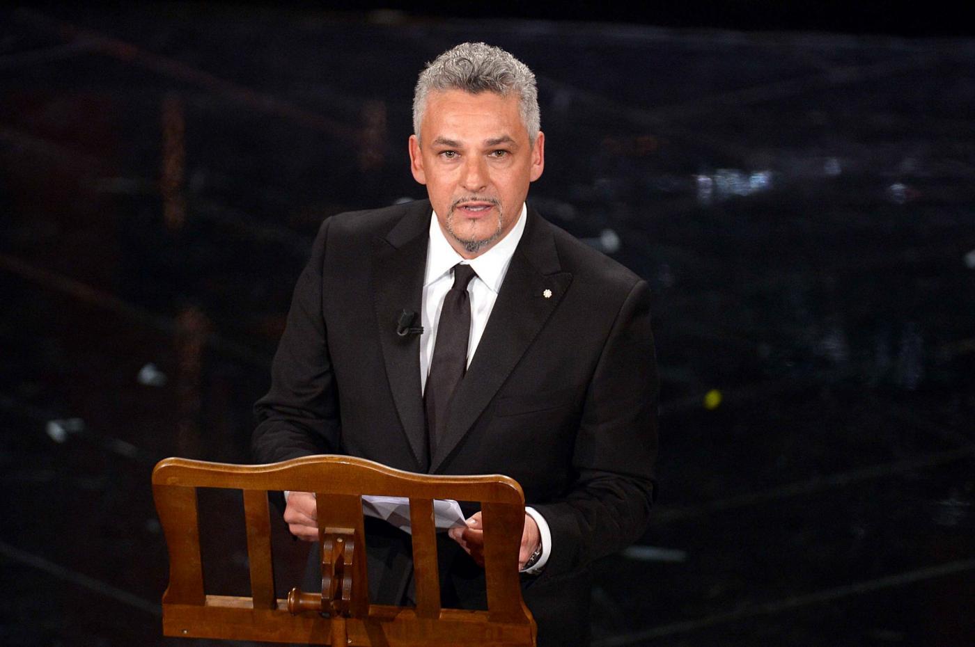 Roberto Baggio a Sanremo