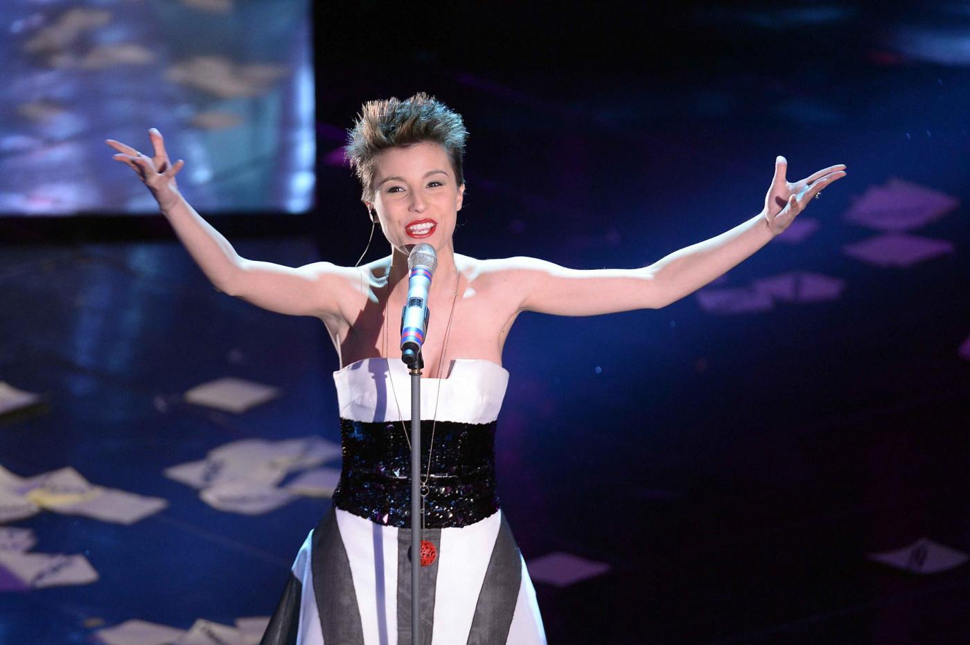 Sanremo 2013, ottimo il look di Ilaria Porceddu