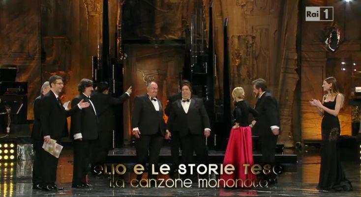 Sanremo 2013, doppia vittoria di Elio e le Storie Tese