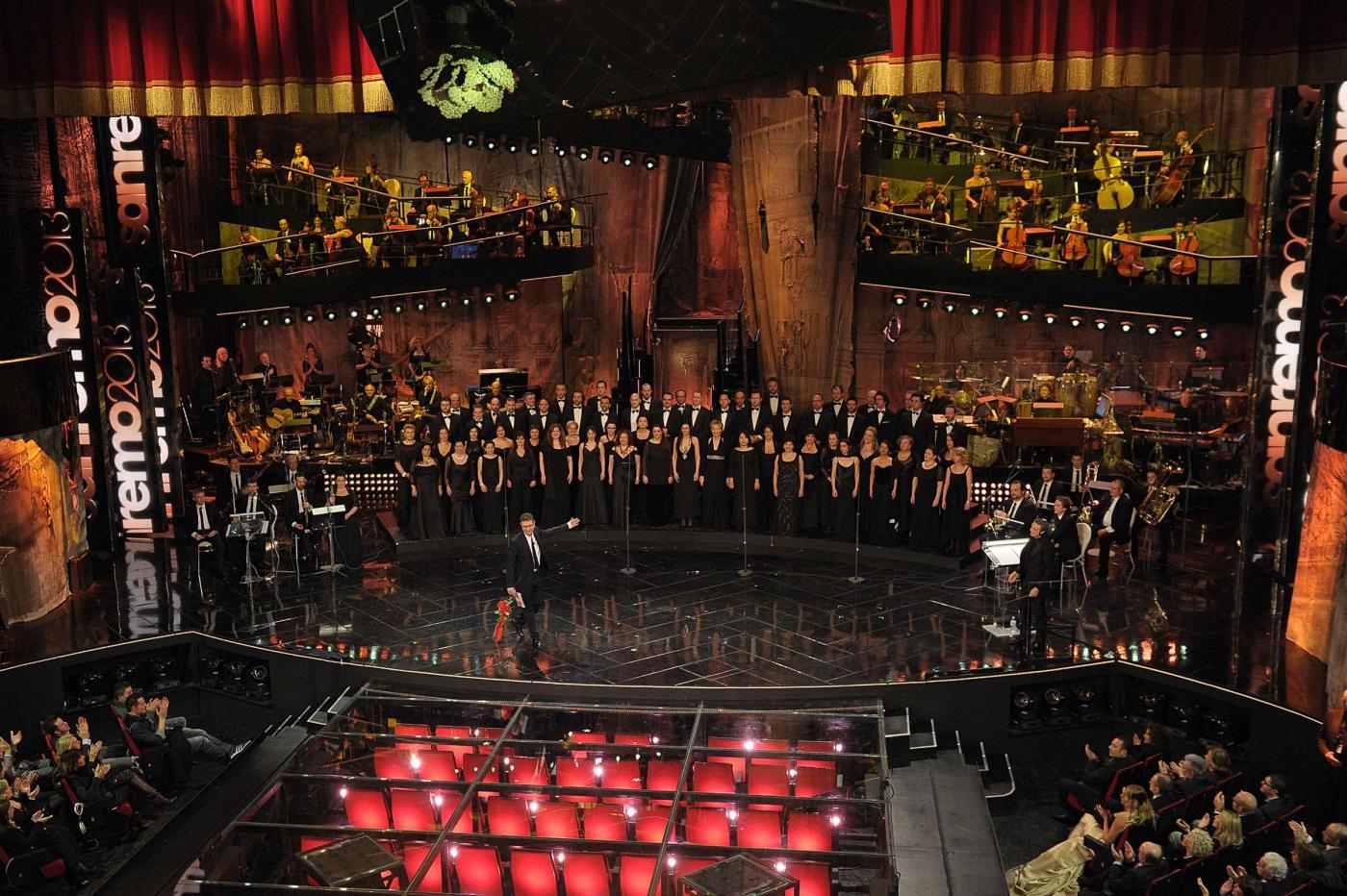 Sanremo 2013 omaggia Giuseppe Verdi