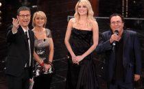 Sanremo 2013: Al Bano e Laura Chiatti duettano sulle note di Felicità