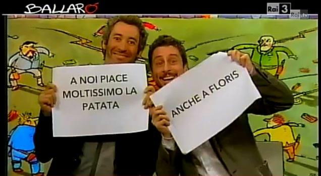 Luca e Paolo a Ballarò: la parodia della coppia gay a Sanremo 2013 [VIDEO]