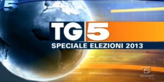 Ascolti tv lunedì 25 febbraio 2013: stravince lo speciale di Rai Uno, male Canale 5