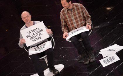Sanremo 2013: la coppia gay Stefano e Federico intenerisce il pubblico