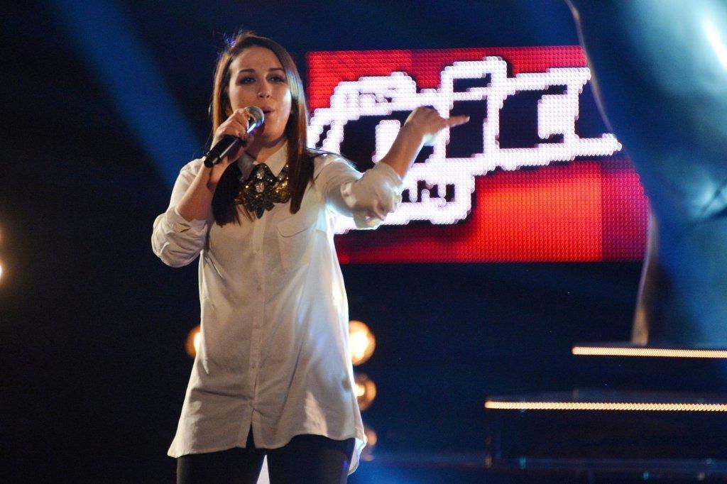 The Voice of Italy: Elhaida Dani incanta i coach e si candida alla vittoria