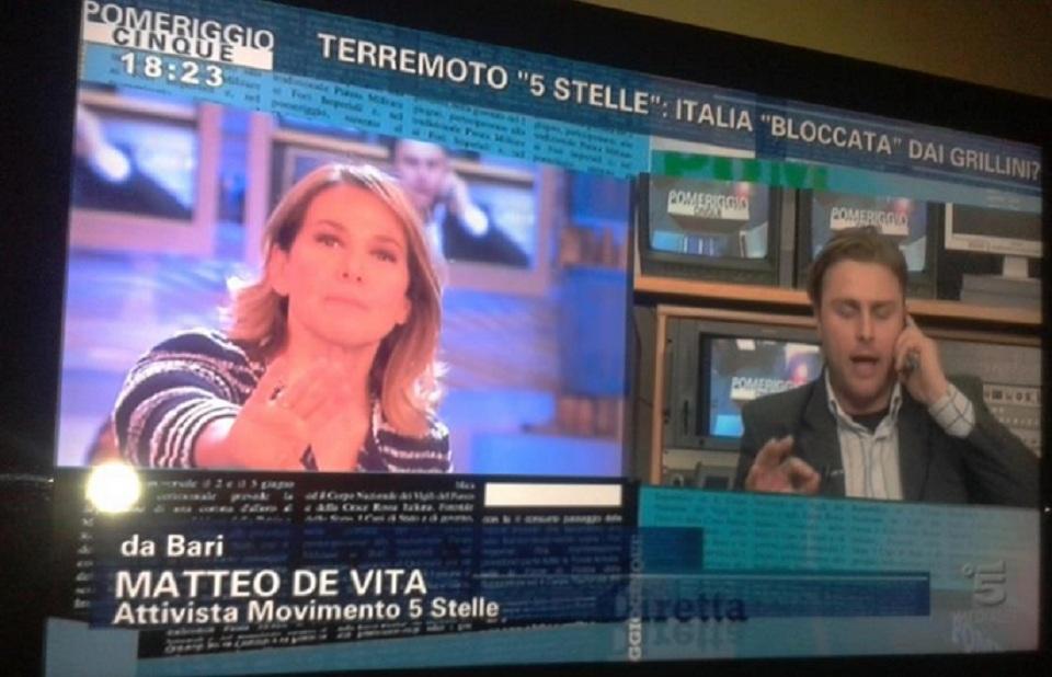 Beppe Grillo vs Barbara D'Urso: la lite prosegue in studio con Jacopo Fo