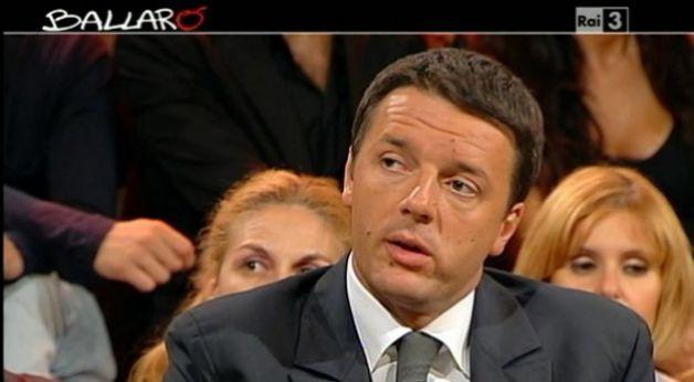 Ballarò, anticipazioni puntata del 5 marzo 2013: l'intervista a Renzi
