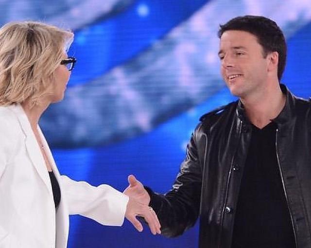 Sformat di Mariano Sabatini – Matteo Renzi ad Amici, un'operazione di lungimiranza elettorale