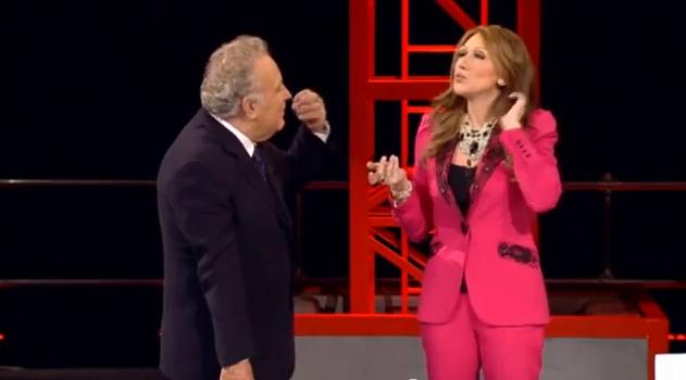 Servizio Pubblico: Virginia Raffaele nei panni di Francesca Pascale, fidanzata di Silvio