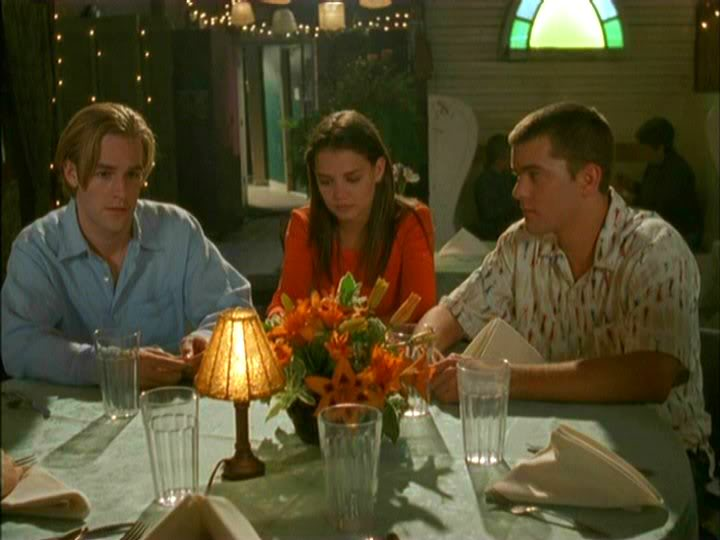 il triangolo dawson pacey joey in dawson s creek