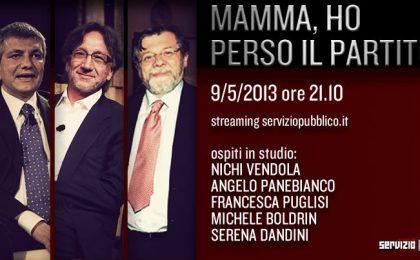 Servizio Pubblico: Nichi Vendola e Serena Dandini ospiti