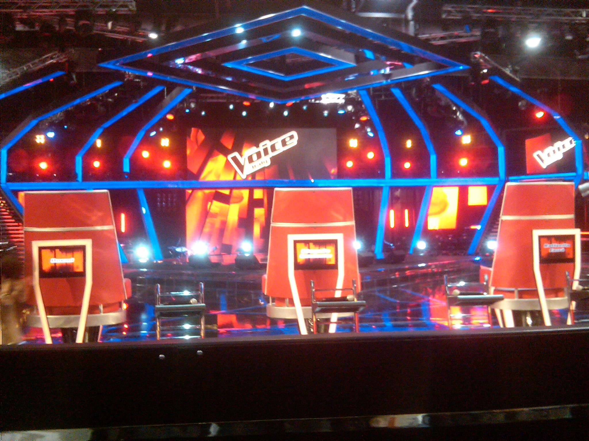 The Voice of Italy conferenza stampa finalist