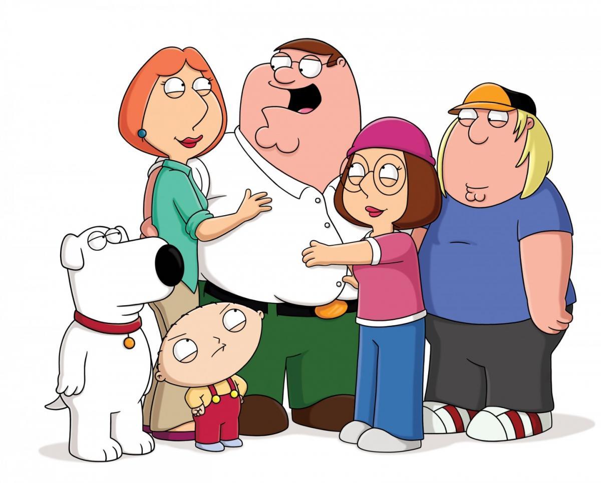 I griffin: personaggi del cartone animato cult [foto] televisionando