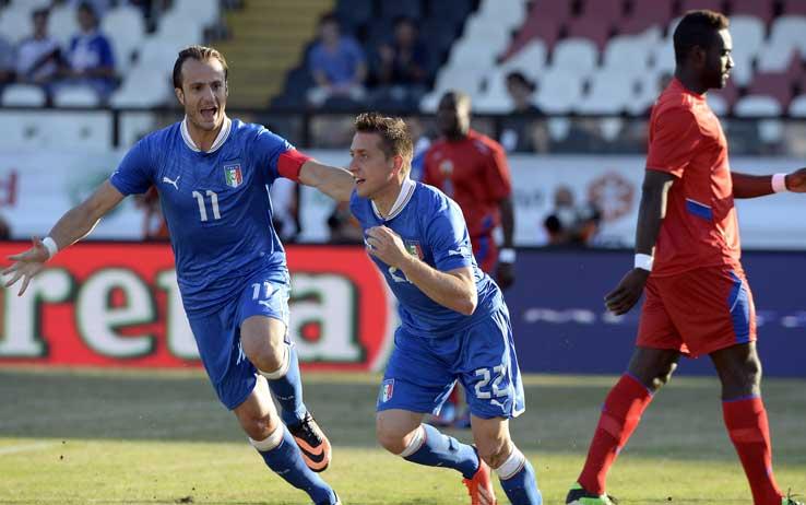 Ascolti TV martedì 11 giugno 2013: l'amichevole Italia-Haiti fa vincere RaiUno