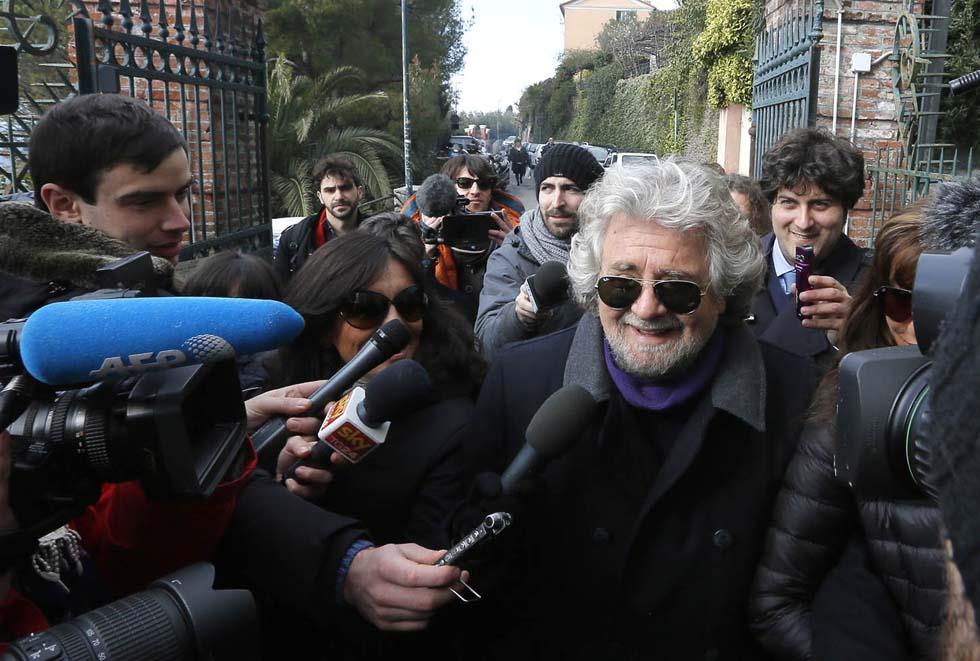 Sformat di Mariano Sabatini – Grillo all'attacco della tv: ha l'ossessione, come Berlusconi per la giustizia