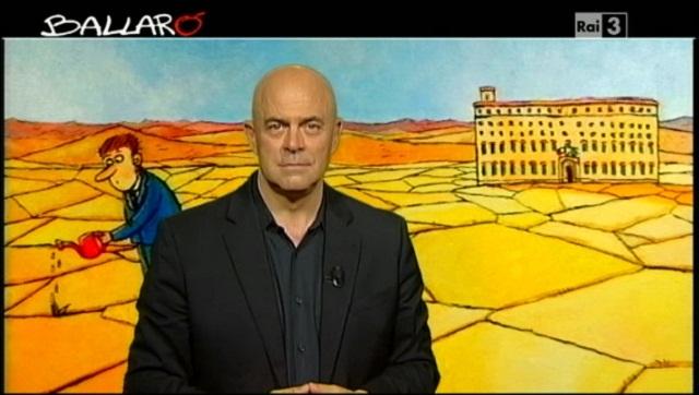Crozza a Ballarò (18/06/2013): 'I dissidenti grillini seppelliti nei vaffangulag[VIDEO]