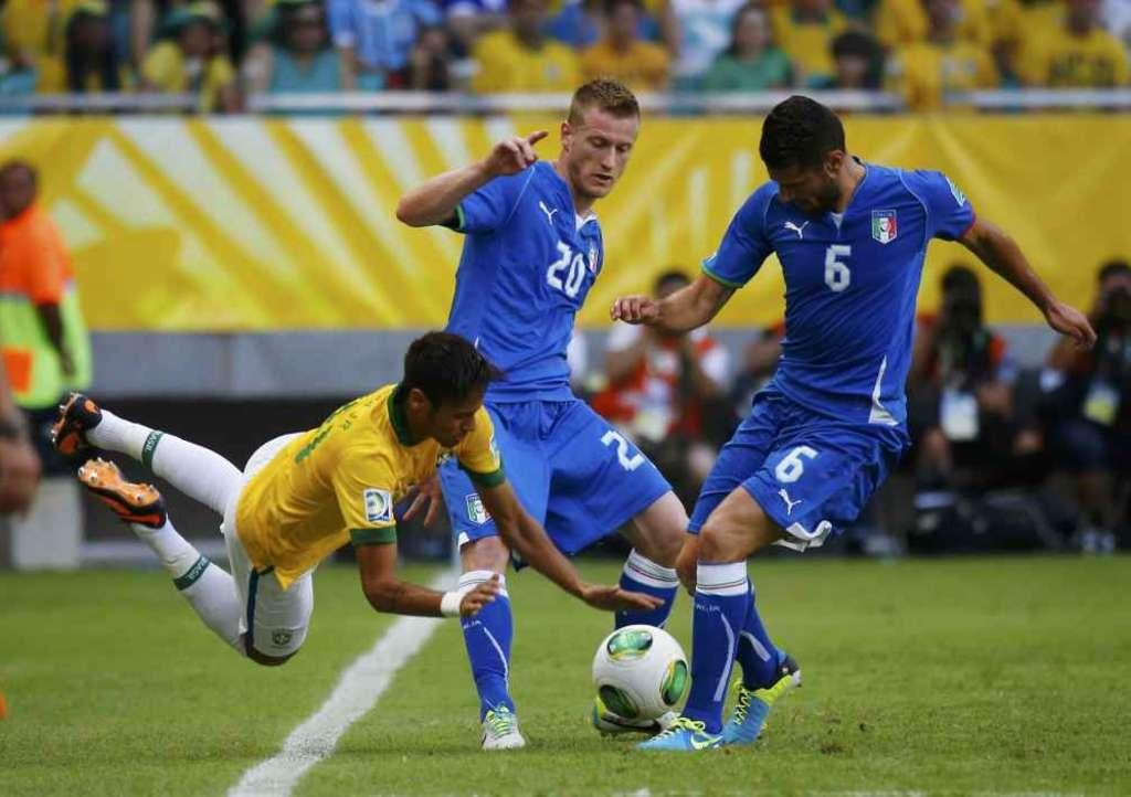 Ascolti TV sabato 22 giugno 2013: Italia-Brasile oltre i 9 milioni