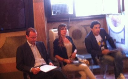 MTV Awards 2013, la conferenza stampa con Virginia Raffaele e Ubaldo Pantani