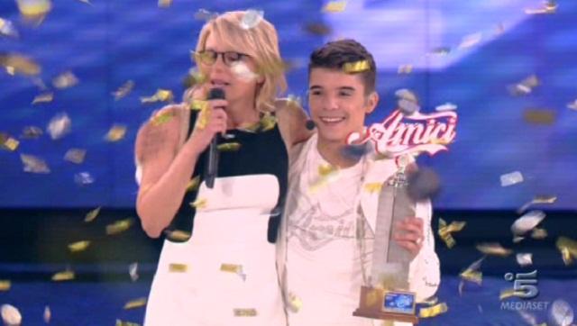 Amici 2013: Moreno Donadoni vince la dodicesima edizione del talent show