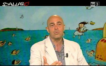 Crozza a Ballarò (09/07/2013): ferie sul più bello tra Berlusconi, Renzi e gli F35 [VIDEO]