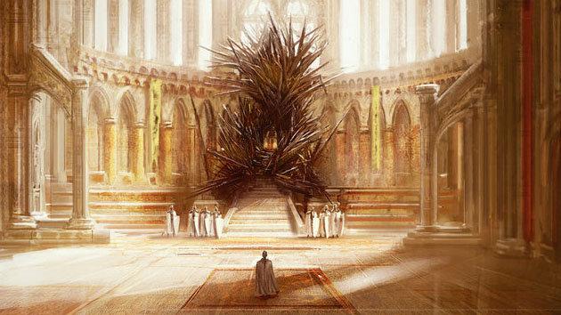 La vera sala del trono di Game of Thrones