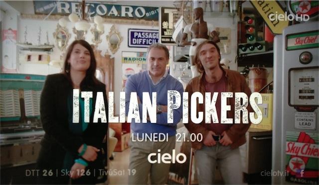 Su Cielo arrivano gli Italian Pickers: un trio in cerca di affari