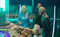 Il principe Carlo e Camilla sul set di Doctor Who