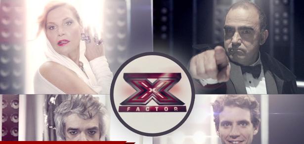 X Factor 7: Sky lancia il promo show con i quattro giudici