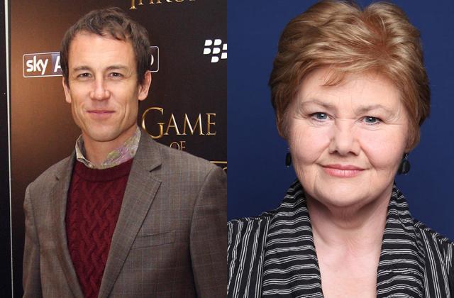 Tobias Menzies e Annette Badland di Outlander