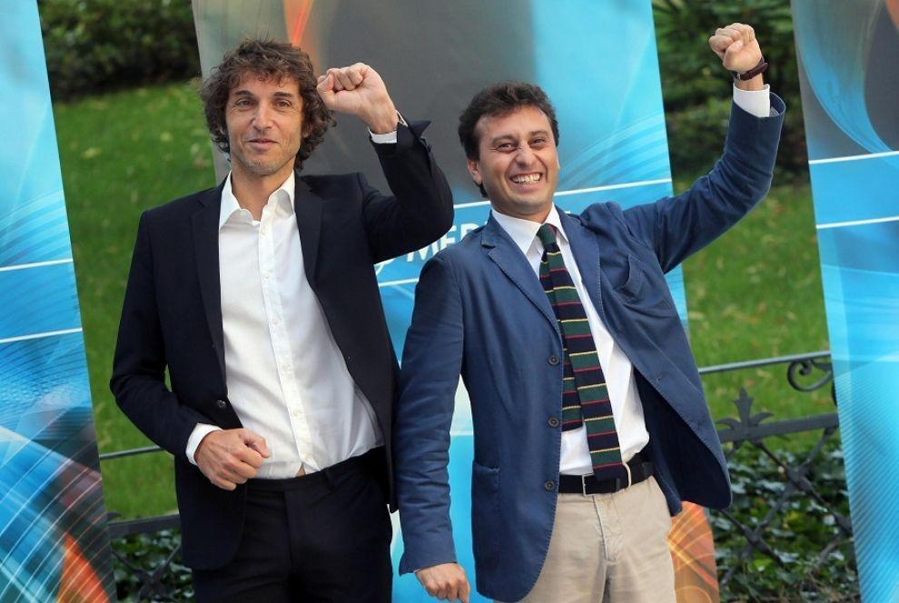Giuseppe Cruciani e David Parenzo a Radio Belva - Televisionando