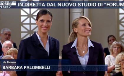 Forum si tinge di rosa: uno staff fatto di donne al fianco Barbara Palombelli