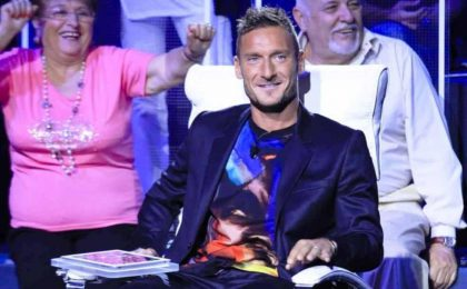 Francesco Totti a L'Intervista: 'Presto in Tv con Ilary? Ci penso'