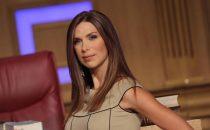 Veronica Maya ad Agon Channel: lannuncio al Tg dellemittetente albanese