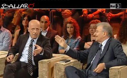 Lite Sallusti-Cicchitto a Ballarò: 'Sei un vigliacco!' [VIDEO]