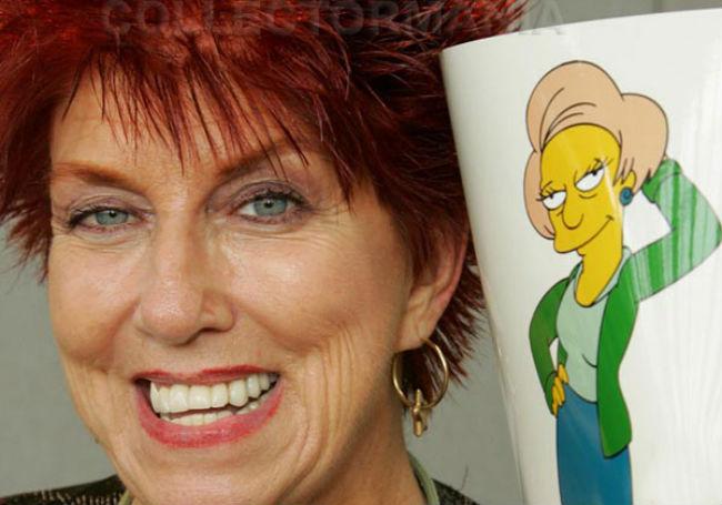 I Simpson, morta Marcia Wallace: addio alla voce di Edna Caprapall