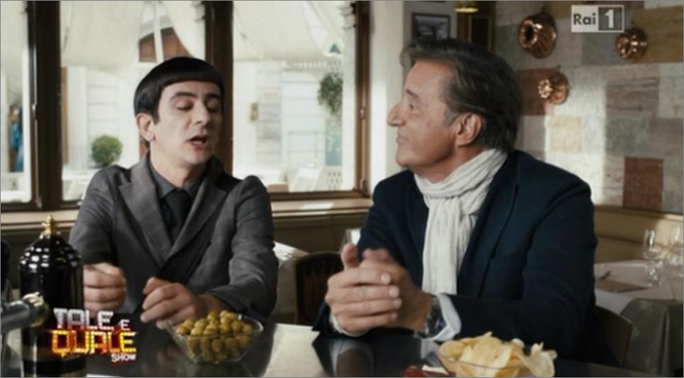 Christan De Sica e Francesco Mandelli in Colpi di Fortuna