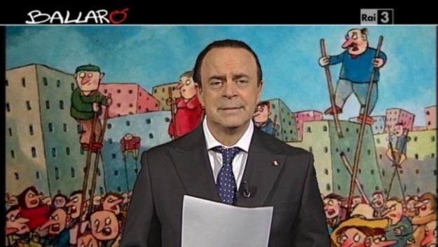 Crozza a Ballarò (26/11/2013): 'Berlusconi patrimonio Unesco dell'Immunità' [VIDEO]